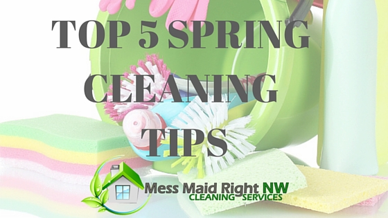 Portland House Cleaning - 5 Spring Cleaning Tips